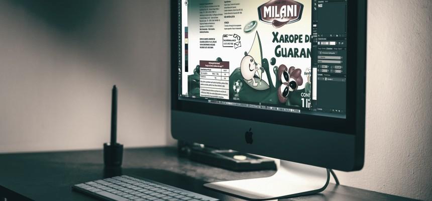Milani Bebidas - Criação Rótulo